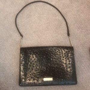 Kate Spade back ostrich shoulder bag